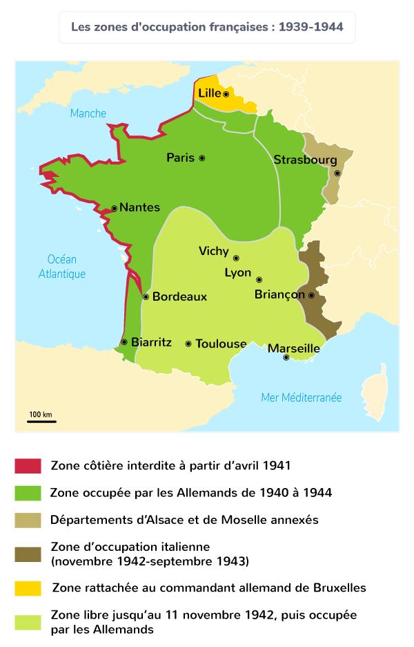 France régime de Vichy Pétain