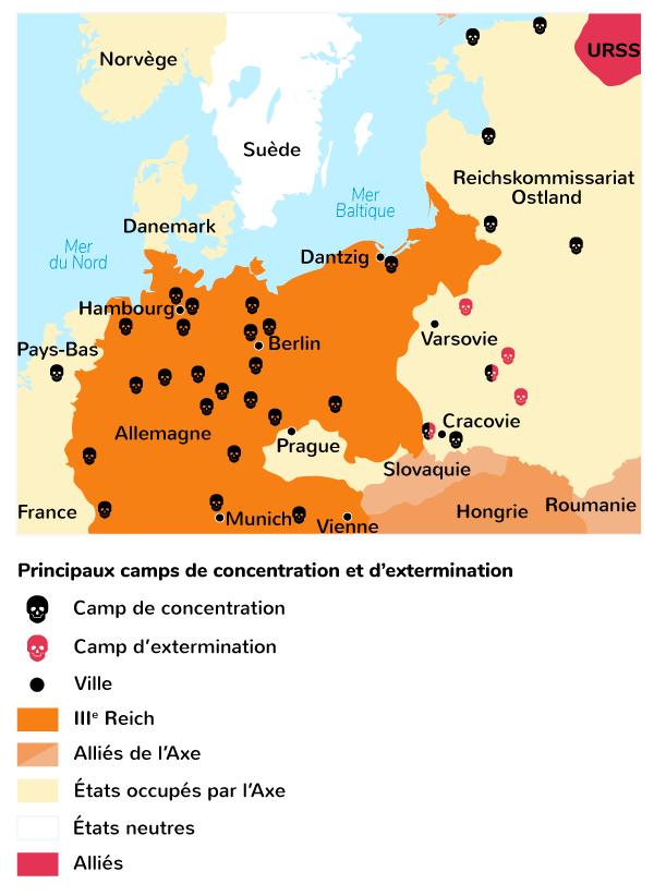 déportation génocide Juifs Tsiganes