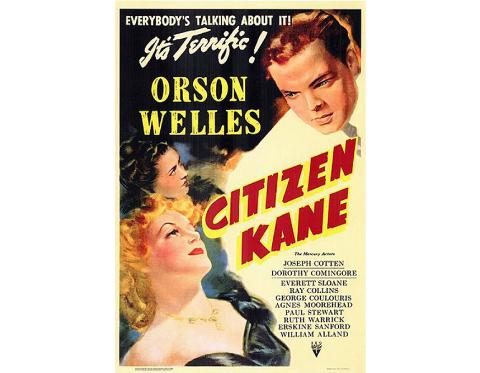 Affiche du film Citizen Kaned'Orson Welles sorti en 1941