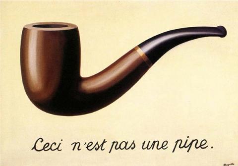René Magritte, La Trahison des images, 1928−1929