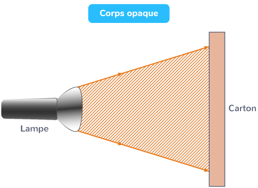 Corps opaque