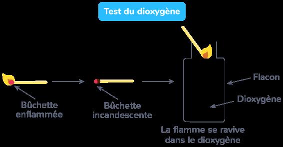 Test du dioxygène